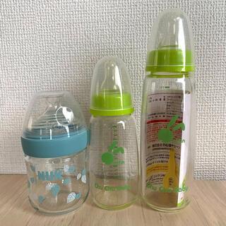 ニシマツヤ(西松屋)のヌークNUK 西松屋 哺乳瓶セット(哺乳ビン)