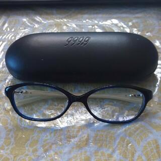フォーナインズ(999.9)の超美品❗️フォーナインズ  999.9  メガネ(サングラス/メガネ)
