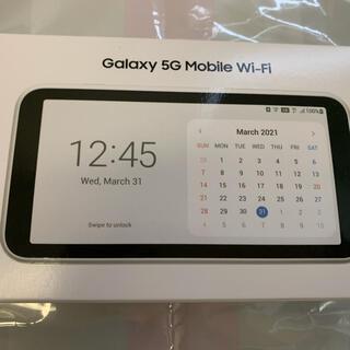 ギャラクシー(Galaxy)のGalaxy 5G Mobile Wi-Fi SCR01(その他)