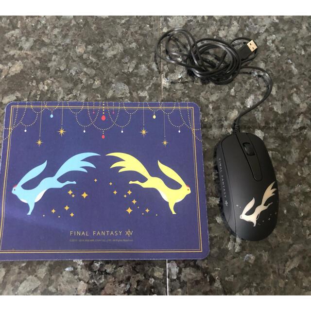 TAITO(タイトー)のFF XIVマウス マウスパッド スマホ/家電/カメラのPC/タブレット(PC周辺機器)の商品写真