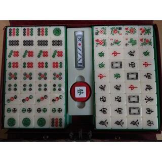 東方不敗 レア白色 麻雀牌 3.2cmのビッグサイズ(麻雀)