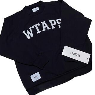 W)taps - 新品【wtaps ダブルタップス】モックネック スウェット ブラック