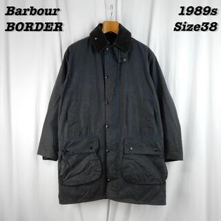 バーブァー(Barbour)のBarbour BORDER Jacket Navy 1989s Size38(テーラードジャケット)