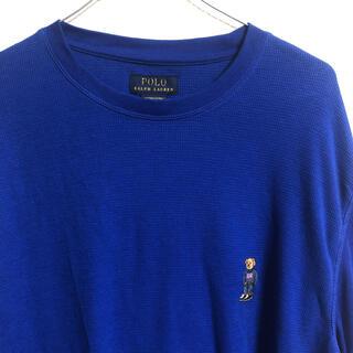 ポロラルフローレン(POLO RALPH LAUREN)の新品同様 US XL アウトレット ラルフローレン ポロベア サーマル ロンT(Tシャツ/カットソー(七分/長袖))