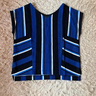 バンヤードストーム(BARNYARDSTORM)のBARNYARDSTORM★ボーダーシャツ(シャツ/ブラウス(半袖/袖なし))
