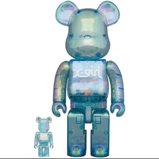 BE@RBRICK X-girl 2021 100% & 400%(その他)