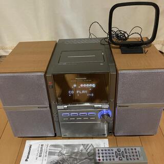 パナソニック(Panasonic)のパナソニック ミニコンポ SA-PM77MD(その他)