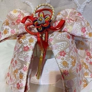 七五三 祝帯 作り帯/小物6点セット 女児 7歳 ☆(和服/着物)