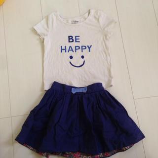 baby gap にこちゃんTシャツ☆90