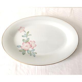 ノリタケ(Noritake)のNittoroyal*RC JAPAN*大皿*オーバル皿*ヴィンテージ*(食器)