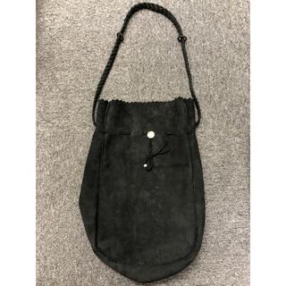 ゴローズ(goro's)のgoros ゴローズ 巾着バッグMサイズ 黒(ショルダーバッグ)