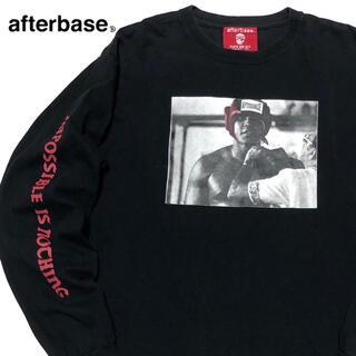 アフターベース(AFTERBASE)の*1950 AFTERBASE アフターベース 袖プリ 長袖 Tシャツ ロンT(Tシャツ/カットソー(七分/長袖))