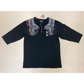 トライチ(寅壱)の寅壱 七分袖 ヘンリー ネックシャツ(Tシャツ/カットソー(七分/長袖))