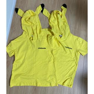 ポケモン(ポケモン)のピカチュウ Tシャツ 140 2枚(Tシャツ/カットソー)
