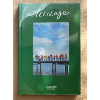 セブンティーン(SEVENTEEN)のseventeen  teenage(K-POP/アジア)