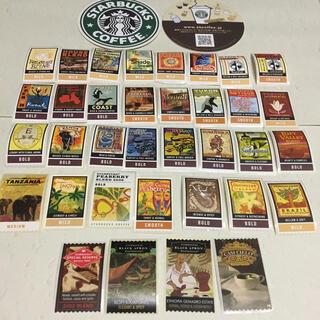 Starbucks Coffee - Starbucks☆スタバ、スターバックス、コーヒー シール コースター