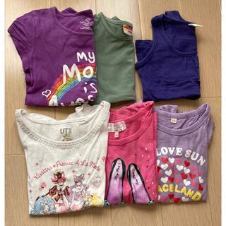 スキップランド(Skip Land)の女の子 Tシャツ 100センチ 6枚セット(Tシャツ/カットソー)