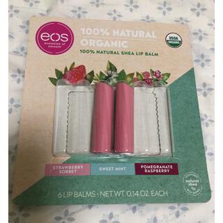コストコ(コストコ)のEOS 100% natural shea lip オガニック リップバーム(リップケア/リップクリーム)