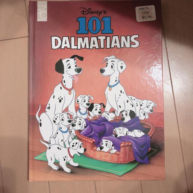 Disney(ディズニー)のディズニー 洋書絵本  101   101匹わんちゃん エンタメ/ホビーの本(洋書)の商品写真