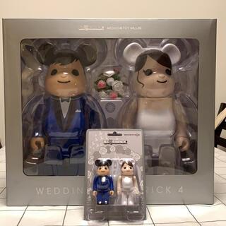 メディコムトイ(MEDICOM TOY)のBE@RBRICK グリーティング結婚 4 PLUS (フィギュア)