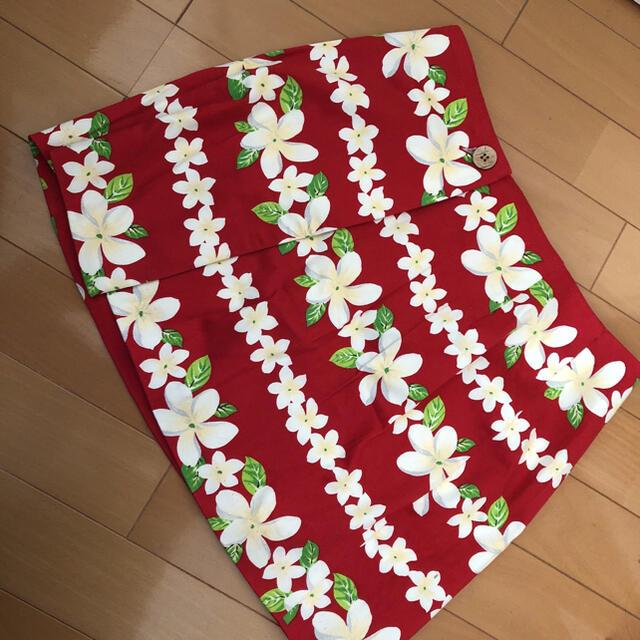 ミニスカート  プルメリア レディースのスカート(ミニスカート)の商品写真