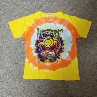 ヒステリックミニ(HYSTERIC MINI)のヒスミニ タイダイ柄 Tシャツ 95センチ(Tシャツ/カットソー)