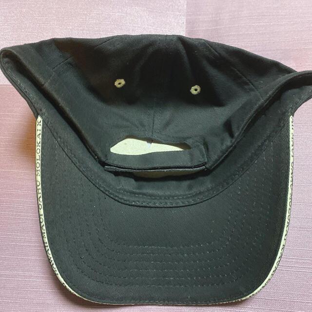 ハワイ  キャップ 黒 メンズの帽子(キャップ)の商品写真
