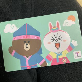 ブラウン & コニー tmoney 交通カード(旅行用品)