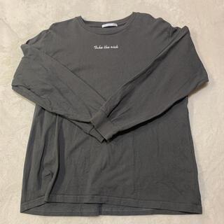 スピンズ(SPINNS)のスピンズ トップス 長袖(Tシャツ(長袖/七分))