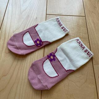 アナスイミニ(ANNA SUI mini)のANA SUI mini ベビー靴下 9-11㎝(靴下/タイツ)