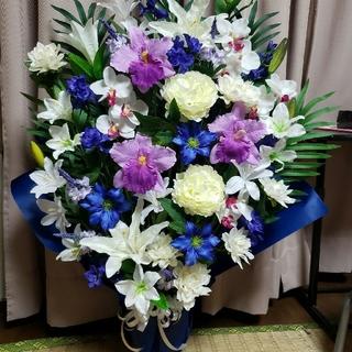 仏花 造花アレンジ 特大(その他)