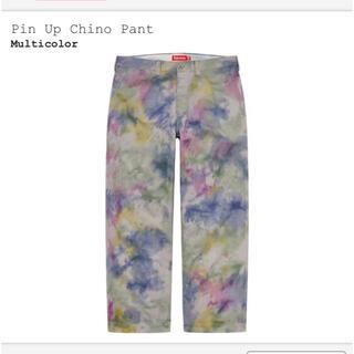 Supreme - Pin Up Chino Pant 30 Multicolor