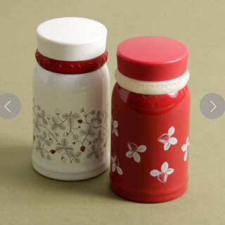 アフタヌーンティー(AfternoonTea)のAfternoon Tea/ストロベリースクリューミニボトル ホワイト レッド(タンブラー)
