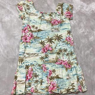 ハワイアンファッション  トロピカルなワンピース(ワンピース)