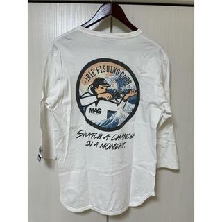 アイリーライフ(IRIE LIFE)のirie fishing club magbite 5部袖 L(Tシャツ/カットソー(半袖/袖なし))