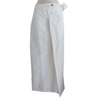 エムエムシックス(MM6)のMM6 18ss ラップスカート(ロングスカート)