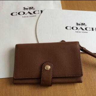 コーチ(COACH)のお財布 モバイルケース(モバイルケース/カバー)