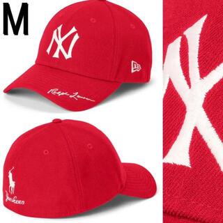 ラルフローレン(Ralph Lauren)のMLB Ralph Lauren Yankees New Era 赤 Mサイズ(キャップ)