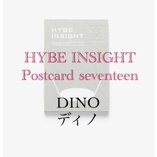 セブンティーン(SEVENTEEN)の専用⭐️HYBE Postcard seventeen ディノ&ジュン(アイドルグッズ)