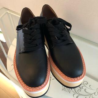 ステラマッカートニー(Stella McCartney)のA AMELプラットフォームシューズ(ローファー/革靴)