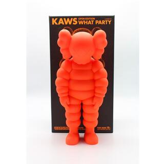 KAWS WHAT PARTY Orange カウズ ワットパーティー オレンジ(その他)