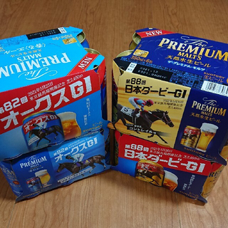 サントリー - プレミアムモルツ コントレイル デアリングタクト 日本ダービー オークス ビール