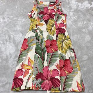 ハワイアンファッション  リゾートワンピース(ひざ丈ワンピース)