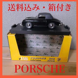 ポルシェ(Porsche)の【箱付き】ミニカー ポルシェ 356 黒(ミニカー)