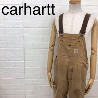 カーハート(carhartt)のcarhartt カーハート ダック ビブオーバーオール 裏キルト ダブルニー(サロペット/オーバーオール)