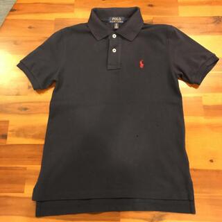 ポロラルフローレン(POLO RALPH LAUREN)のポロラルフローレン ポロシャツ S(8)140 ネイビー(Tシャツ/カットソー)