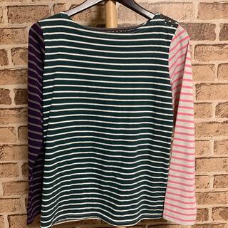 ビームス(BEAMS)のbeams heart ロングTシャツ ボーダー 品番5051(Tシャツ(長袖/七分))