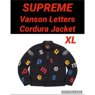 シュプリーム(Supreme)のSupreme Vanson Letters Cordura Jacket(ライダースジャケット)