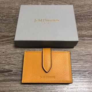 ジェイアンドエムデヴィッドソン(J&M DAVIDSON)の新品未使用 ジェイアンドエムデヴィッドソン アコーディオンウォレット 財布(財布)