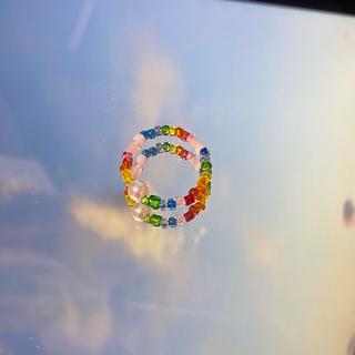 ジュエティ(jouetie)の:) beads / party(リング)